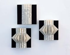 For book lovers!  Wall Art Mini Book Sculptures by yinsteadofi on Etsy, $40.00