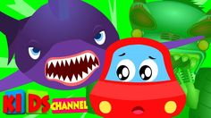 The scary flying sharks are back on Kids Channel and their new victim is the Little Red Car! Watch the video and find out what happens next here:  #scaryflyingshark #songsforkids #childrenvideos #videosfortoddlers #forkids #learningvideo #educationalvideo #scarysong Kids Channel https://youtu.be/55pxbNpbqYU