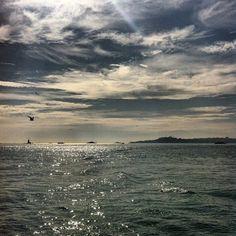 İstanbul'a gün ışı bile ayrı bir güzel vuruyor.