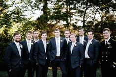 Nashville Wedding Photography. Brad and Jen Wedding Photographers. Bonobos Suits. Groomsmen Photos. Navy Groomsmen Suits. www.bradandjen.com
