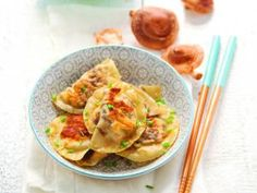 Recette Ravioli aux shiitakés et tofu - Feminin Bio