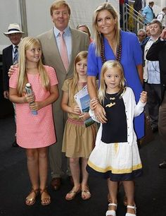 Queen Maxima and family