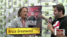 I ever thought I could love Bruce Greenwood anymore until I found out that he voiced Batman in the red hood! I think of Bruce Greenwood as JFK meets Batman!
