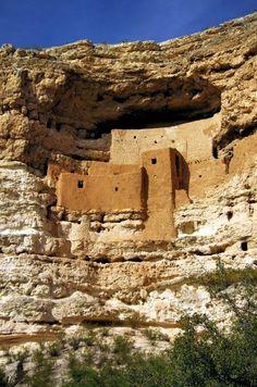 Montezuma Castle, Camp Verde, Arizona