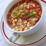 Gazpacho Soup, raw vegan