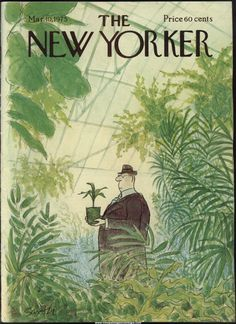 New Yorker Magazine - March 10, 1975 - Cover by Charles Saxon