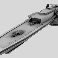 Photo by John Gurzick Spaceship Design, Spaceship Concept, Battlestar Galactica Model, Space Battles, Stargate, Spaceships, Random Thoughts, Atlantis, Star Trek