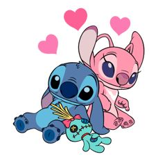 Dessin stitch et angel - Summer Tutorial and Ideas Disney Stitch, Lilo Y Stitch, Cute Stitch, Lilo And Stitch Drawings, Lilo And Stitch Tattoo, Cartoon Wallpaper, Angel Wallpaper, Disney Phone Wallpaper, Disney Kunst