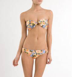 O'NEILL floral swim suit. I'm loving the floral print on two pieces this year. So fabulous