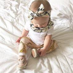 Hipster Baby Infinity Scarf
