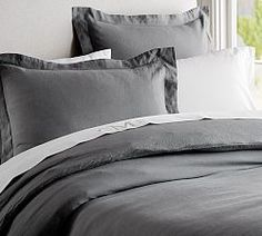 Neutral Bedding & Ivory Sheets | Pottery Barn