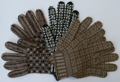 Sanquhar Handling Collection at Knitting Reference Library