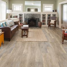Allure ISOCORE Multi-Width x 47.6 in. Prairie Oak Light Resilient Vinyl Plank Flooring (19.53 sq. ft. / case)-I127918 - The Home Depot