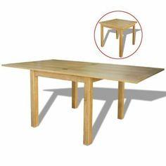 K&A company Extendable Table Oak 67 Oak Extending Dining Table, Wooden Dining Tables, Extendable Dining Table, Dining Set, Dining Room Table, Console Table, Kitchen Dining, Kitchen Wood, Room Kitchen