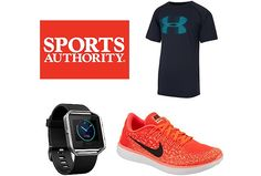 Sports Authority Flash Sale | 25% Off Entire Purchase $9.99 (sportsauthority.com)