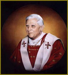 Papa Benedetto- Dipinto del Maestro Mario Donizetti