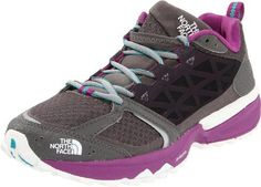 The North Face Single-Track II Trail Running Shoe - Women's, Dark Gull Grey/Magic Magenta, 7.5 The North Face. $82.99. Abrasion-resistant tight-weave mesh. OrthoLite Northotic footbed. synthetic. Cradle heel cushioning and stability technology. Tenacious Grip sticky rubber outsole. C-Delta metatarsal fit system for a snug, secure fit. Day in, day out you're on the trail putting away the mile. You need an everyday shoe that can handle it, you need The North Face Men