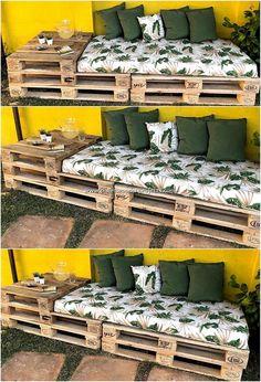 DIY backyard pallet projects, # DIY # Home & Garden # pallets . - DIY pallet projects in the backyard, # DIY - Pallet Garden Furniture, Pallets Garden, Diy Furniture Projects, Furniture Storage, Easy Projects, Furniture Makeover, Furniture Design, Repurposed Furniture, Furniture Plans