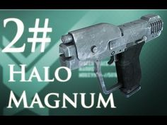 How To Make A Halo Magnum Film Prop CHEAPLY ( Part Two )