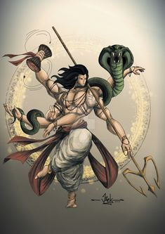 Lord Siva - Mythology by radvivek