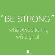 Be Strong www.ShopTheShoppingBag.com