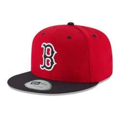Boston Red Sox New Era Youth Diamond Era 59FIFTY Fitted Hat - Red Navy db66756ad36c