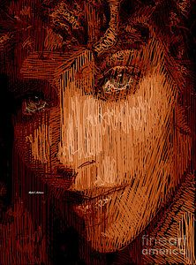 Digital Art - Studio Portrait In Pencil 62 by Rafael Salazar