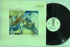 Joni Mitchell: Mingus White Label #Promo #Vinyl LP Record Asylum 5E-505 Gatefold