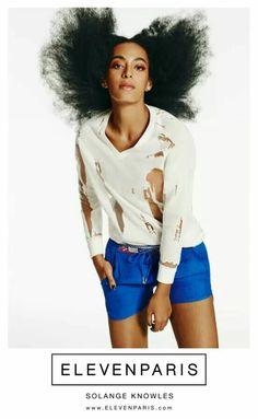 Solange Knowles for Eleven Paris ss15
