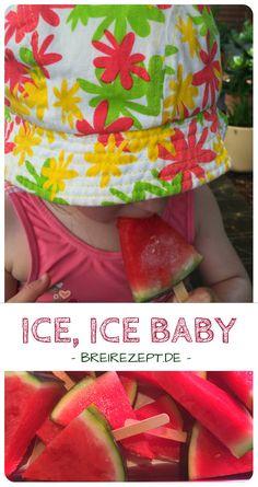Eis am Stiel ohne Eismaschine selber machen ist kinderleicht und eignet sich auch schon für das Baby. Die einfachste Variante ist Melone am Stiel, aber wir zeigen euch auch Ideen für Wassereis und Nice Cream, die nicht nur eure Kinder im Sommer lieben werden: http://www.breirezept.de/rezept_meloneneis.html