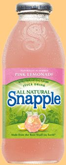 delectable taste of pink lemonade! what could go wrong?!