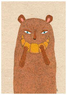 Croissant Bear, lukaluka