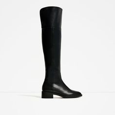 Image 2 of FLAT OVER-THE-KNEE BOOTS from Zara