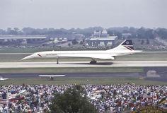 British Airways Concorde on its retirement day