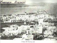 MYKONOS THE TOWN 1885 & WINDMILLS