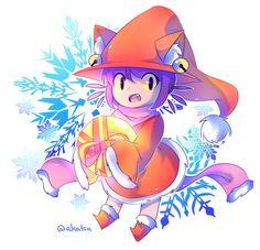 Niko Christmas Alternative - I am de-Lighted by Aka-no-Sekai.deviantart.com on @DeviantArt