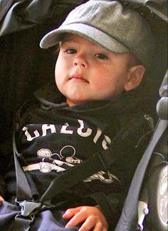 cute Flynn Bloom, son of supermodel Miranda Kerr and actor Orlando Bloom
