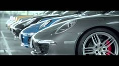 Porsche Birthday Song With 7 Generations of Cars