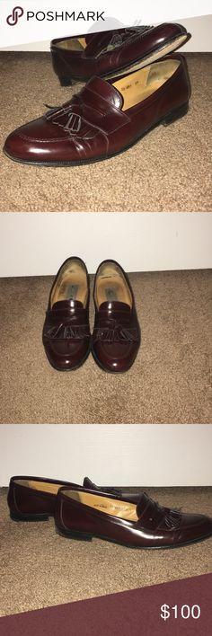 Men's Mezlan Santander Tassel Loafer 11 Pre owned...size 11B... Italian  Mezlan  Shoes Loafers & Slip-Ons