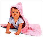 Image of Hooded Baby Blanket