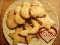 ΣΥΝΤΑΓΕΣ ΤΗΣ ΚΑΡΔΙΑΣ: Μπισκότα αμυγδάλου με κερασάκια Cookies, Vegetables, Desserts, Blog, Crack Crackers, Tailgate Desserts, Deserts, Vegetable Recipes, Cookie Recipes