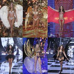 El desfile de Victoria's Secret 2014 que ha tenido lugar por primera vez desde que se celebra en Londres ha estado a la altura de la expectativas. Te presentamos  a las nueve 'angeles oficiales' que junto con 31 modelos más han brillado en la fría noche londinense.