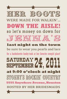 ...Bachelorette Party Invite! Total theme to my bachelorette party!!!