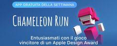 Angelo Santoro [  Chameleon Run ] - Applicazione della settimana gratis su App Store - #Apple #Applicazioni Applicazioni  giochi