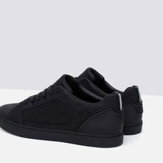 Image 4 of MONOCHROME TECHNICAL SNEAKERS from Zara