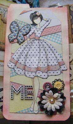 Julie Nutting Prima Dolls Stamps Collection:
