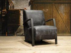 Leren fauteuil kopen?   Uniek Design   RobuusteTafels.nl Concrete Furniture, Furniture Design, Evans, Bike Shed, Table And Chairs, Recliner, Accent Chairs, Armchair, Relax