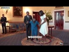 106-Year-Old African-American Woman Meets the President in the White House | GOOD