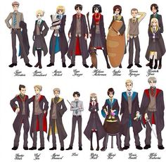 ...Levi looks like a dark haired Draco Malfoy... AOT/SNK -Harry Potter crossover