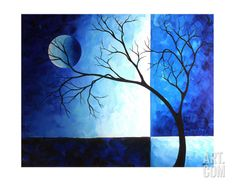Blue Depth Giclee Print by Megan Aroon Duncanson at Art.com